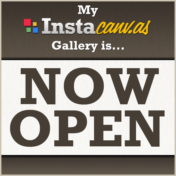 My Instacanv.as Gallery is Now Open!